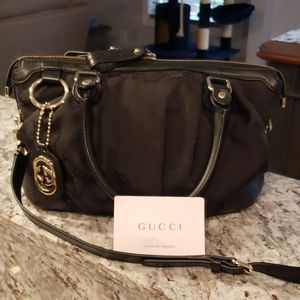 BARELY USED GUCCI 2 WAY GUCCISSIMA SUKEY